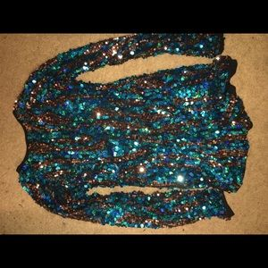 Bedazzle one piece outfit